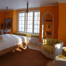 Eclectic Bedroom by Pushaw Builders LLC