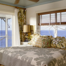 Tropical Bedroom by Cynthia Marks - Interiors