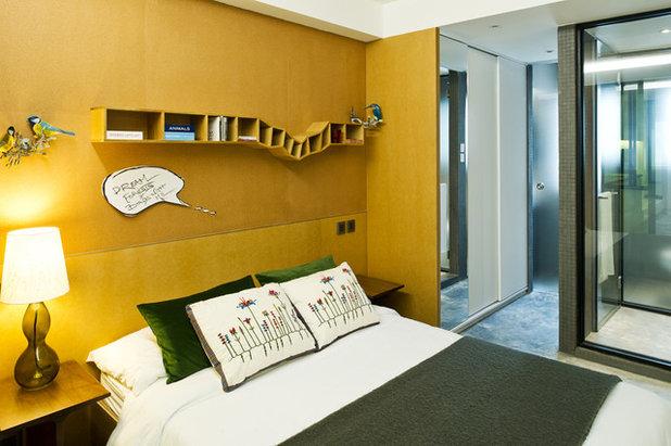 modern bedroom by urban design build limited
