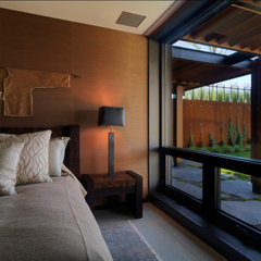 contemporary bedroom by Birdseye Design