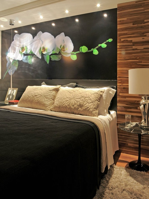Art over bed houzz - Over the bed art ...