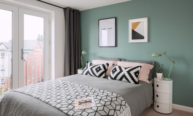 Contemporary Bedroom by Dean Frost Photography
