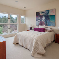 Contemporary Bedroom by H. Macke Construction