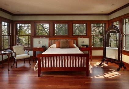 Traditional Bedroom by Patricia Brennan Architects