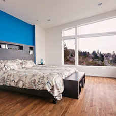 Contemporary Bedroom by Whitney Architecture