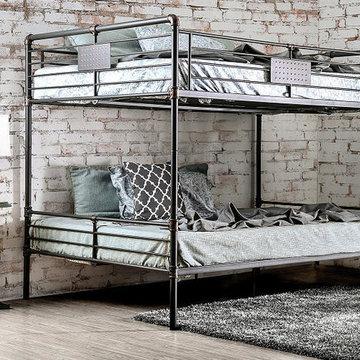 Queen over Queen Bunk Beds