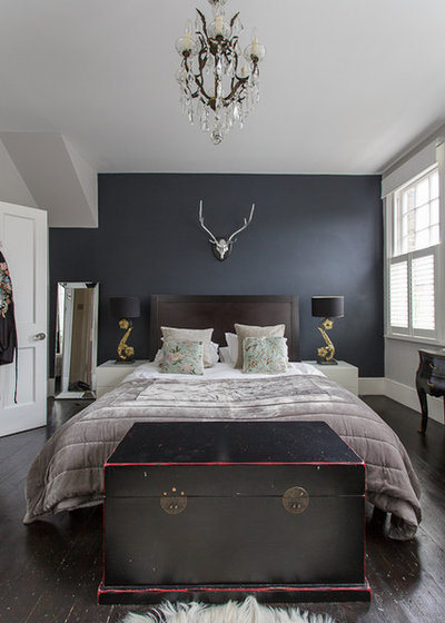 Contemporary Bedroom by Honey Bee Interiors