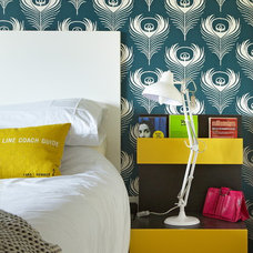 eclectic bedroom by Think Contemporary