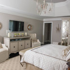 Ft Worth Historical Residence Traditional Bedroom
