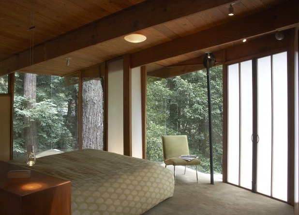 Contemporary Bedroom by DWYER DESIGN