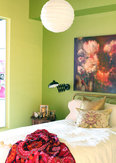 Eclectic Bedroom by The Cross Interior Design