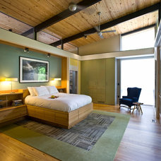 Contemporary Bedroom by Robert M. Cain, Architect