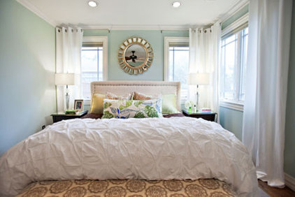 Eclectic Bedroom by Abbe Fenimore Studio Ten 25