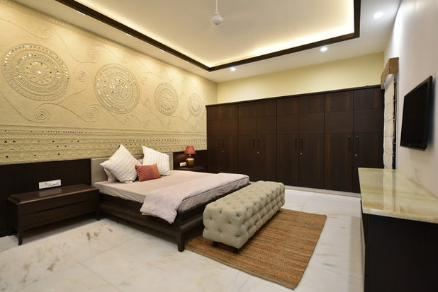 Contemporary Bedroom by MANISH KUMAT DESIGN CELL