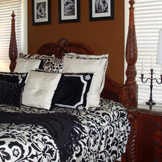 Bedroom by Interiors with Attitude, LLC