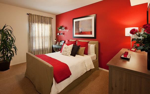 Modern Bedroom by Borden Interiors & Associates