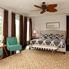 modern bedroom by Lane Design Studio llc