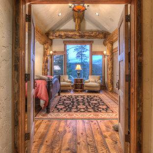 Rustikales Schlafzimmer in Denver