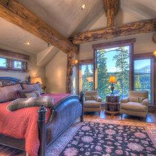 Rustic Bedroom by Allen-Guerra Architecture