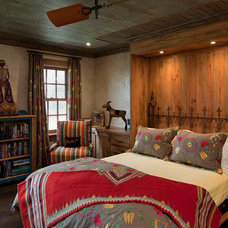 Rustic Bedroom by Rachel Mast Design