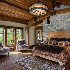 Rustic Bedroom by Mitchell Brock