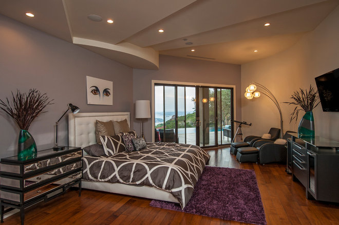 Contemporary Bedroom by Seven Custom Homes