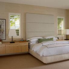 Contemporary Bedroom by Handman Associates
