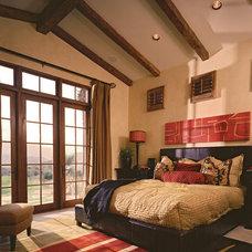 Mediterranean Bedroom by Sennikoff Architects