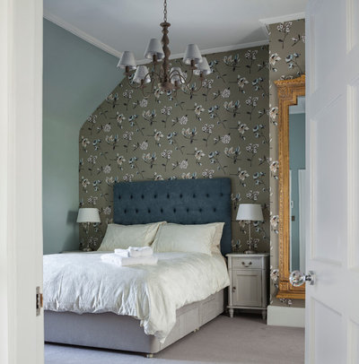 Eclectic Bedroom by Kingston Lafferty Design