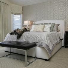 Contemporary Bedroom by MK Design Group Inc.