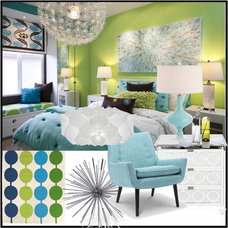 Contemporary Bedroom by Project Décor
