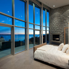 Contemporary Bedroom by blurrdMEDIA