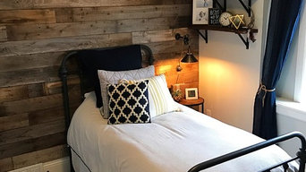 Reclaimed Bedroom Accent Wall