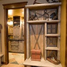 Rustic Bedroom by DesignWorks Development