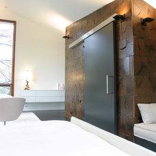 Modern Bedroom by Longleaf Lumber Inc