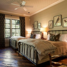 Rustic Bedroom by Morgan-Keefe Builders, Inc.