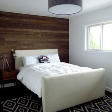 Contemporary Bedroom by Aurora Mills Architectural Salvage
