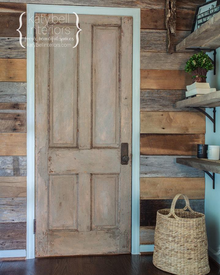 Reclaimed Wood Bedroom Foyer