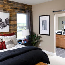 Contemporary Bedroom by Reclaimed Lumber Products