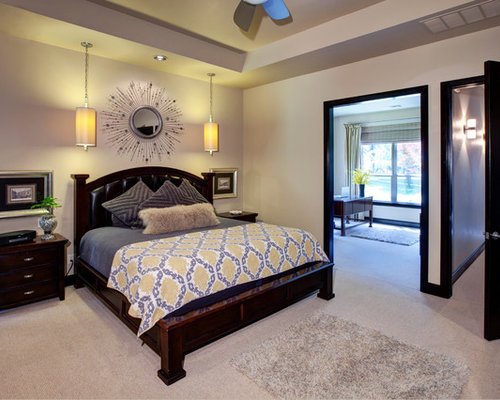 Adjoining bedroom and bathroom home design ideas pictures remodel and decor - Agencement de chambre a coucher ...