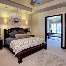 Contemporary Bedroom by Christopher Lee & Company Fine Homes