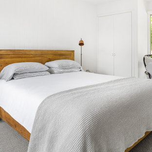 Country bedroom in Melbourne.