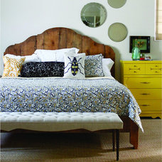 Eclectic Bedroom by red: modern lines . vintage finds