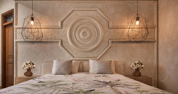 Indian Bedroom by Fadd Studio
