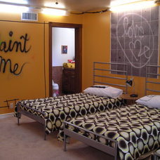 Contemporary Bedroom by Jill McGraw