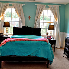 Traditional Bedroom by Tracy Catanzarite