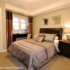 Contemporary Bedroom by Rooms in Bloom Home Staging & Design Inc.