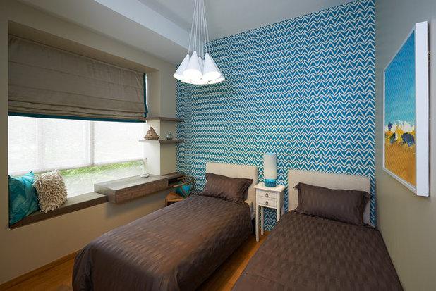 Eclectic Bedroom by Interior Design Journey Pte Ltd
