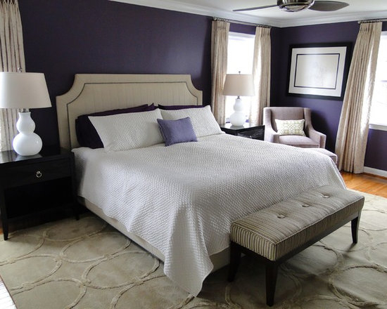 Gray Purple Bedroom purple bedroom | houzz