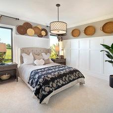 Transitional Bedroom by SUSAN PETRIL, INTERIOR DESIGNS